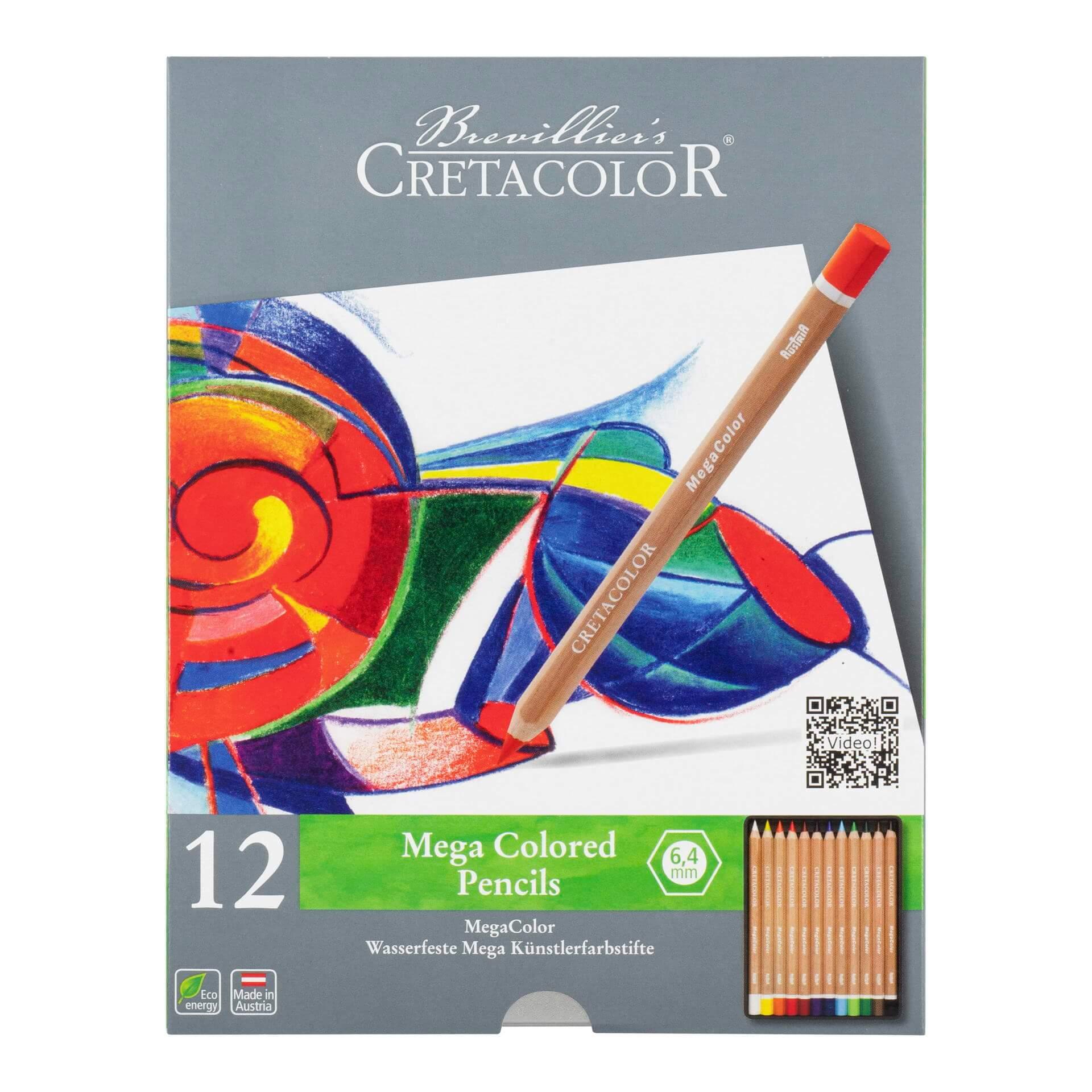 Cretacolor - Mega Colored Pencils
